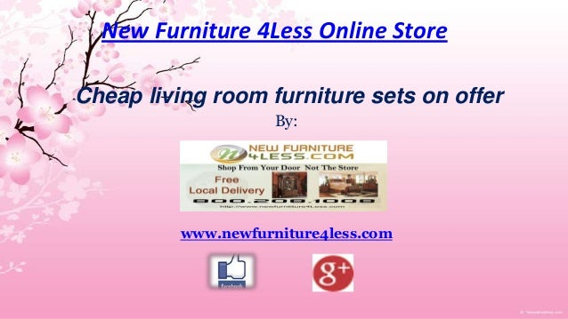 Cheap living room furniture sets on offer