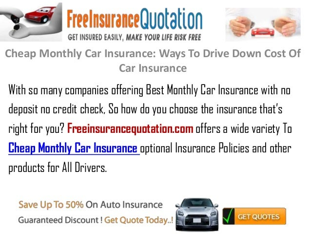 cheap monthly car insurance ways to drive down cost of car insuran. Black Bedroom Furniture Sets. Home Design Ideas