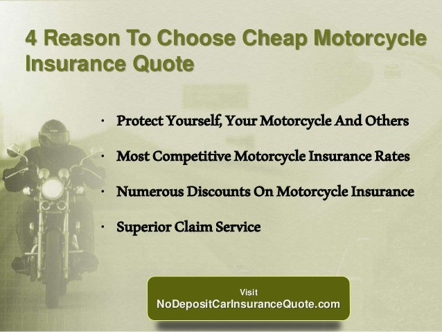 Cheap Motorcycle Insurance Quote With Full Coverage