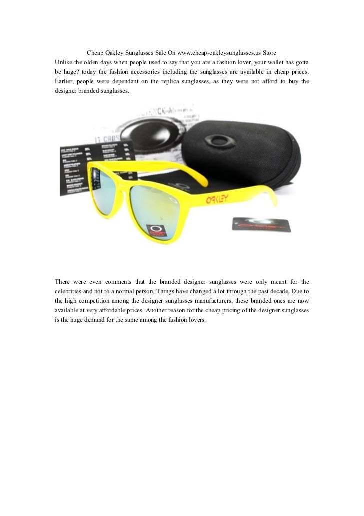 affordable oakley sunglasses agur  Cheap Oakley Sunglasses Sale On wwwcheap-oakleysunglassesus StoreUnlike  the olden days
