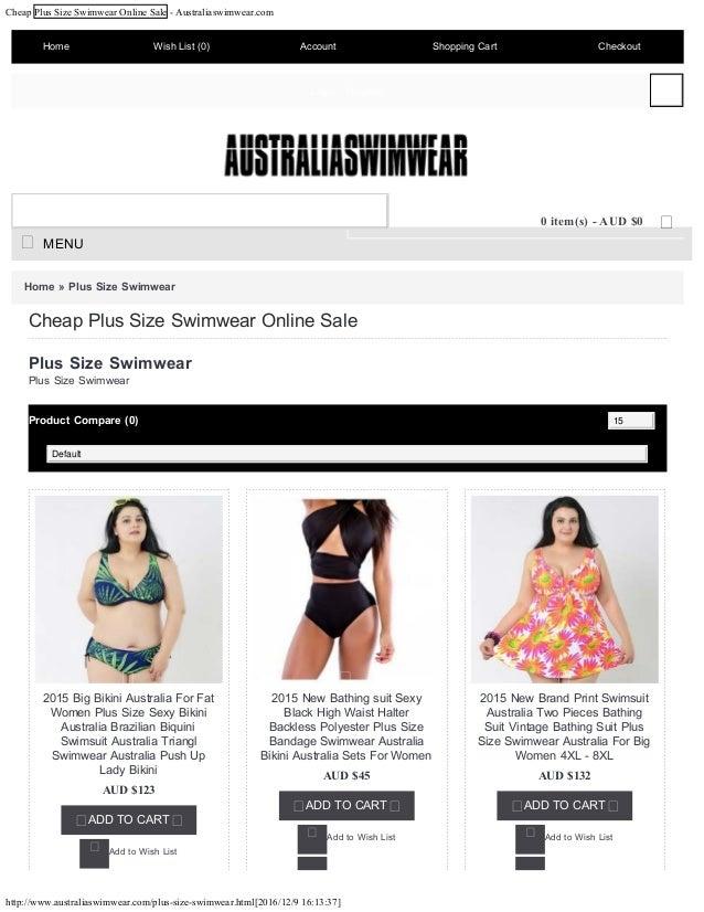 Cheap Plus Size Swimwear Online Sale - Australiaswimwear.com http://www.australiaswimwear.com/plus-size-swimwear.html[2016...
