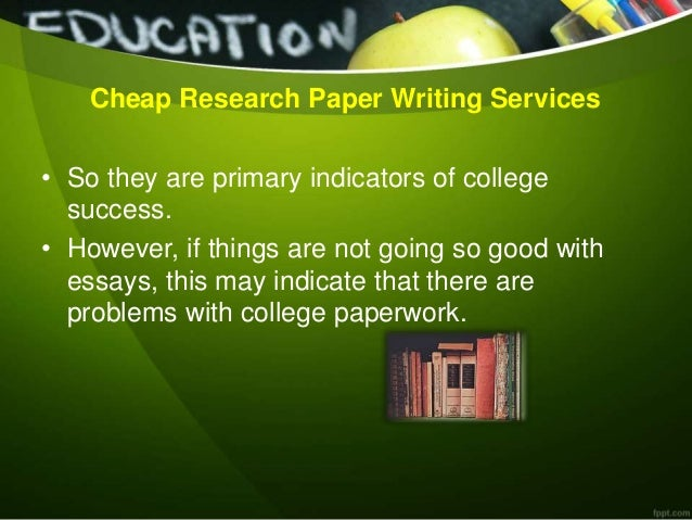 Research paper services cheap
