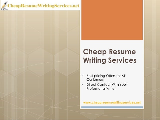 Cheap cv writing service