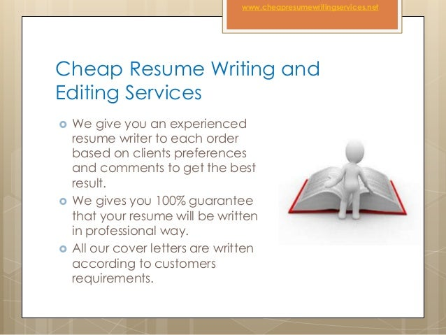 cheap resume writing and editing services