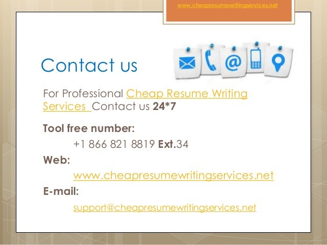 Cheapest resume writing services
