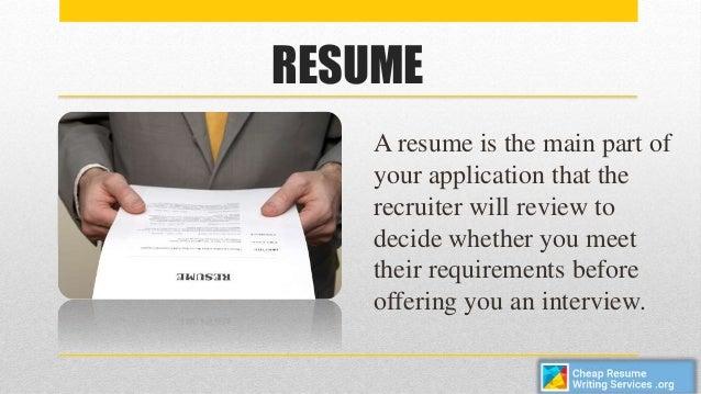 Resume Writing Service Website - Constes.com
