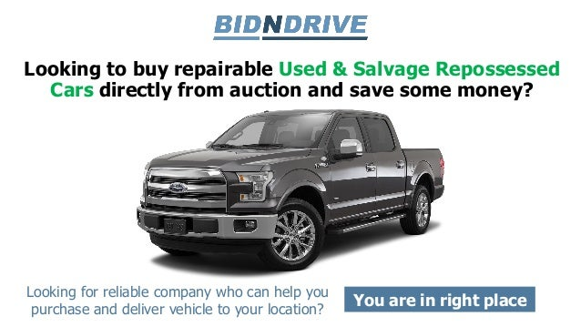 Repossessed Cars For Sale: Repossessed Cars For Sale At Auction
