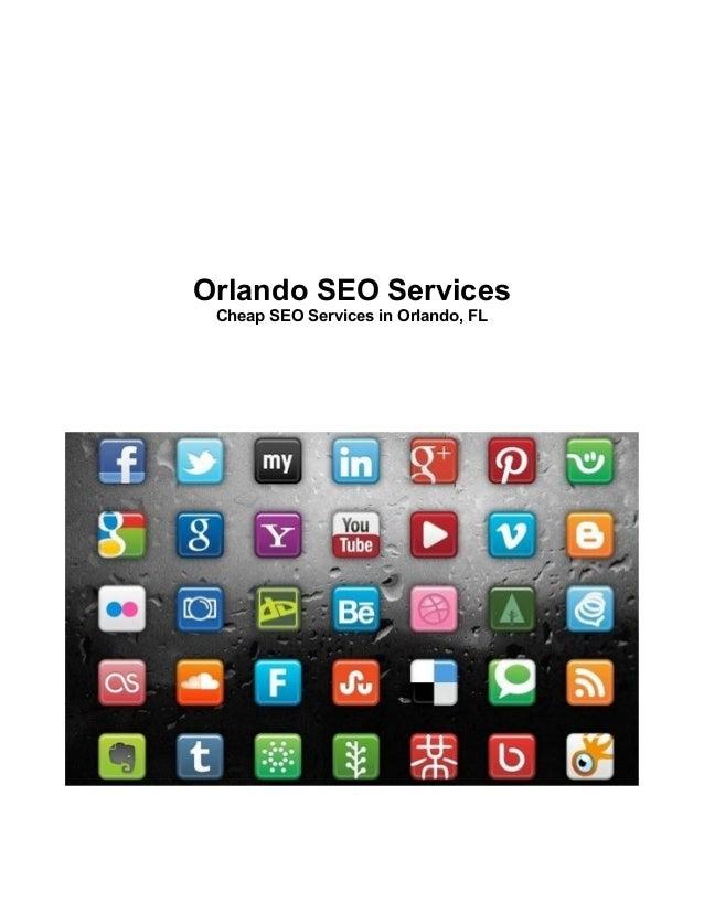 Orlando SEO ServicesCheap SEO Services in Orlando, FL