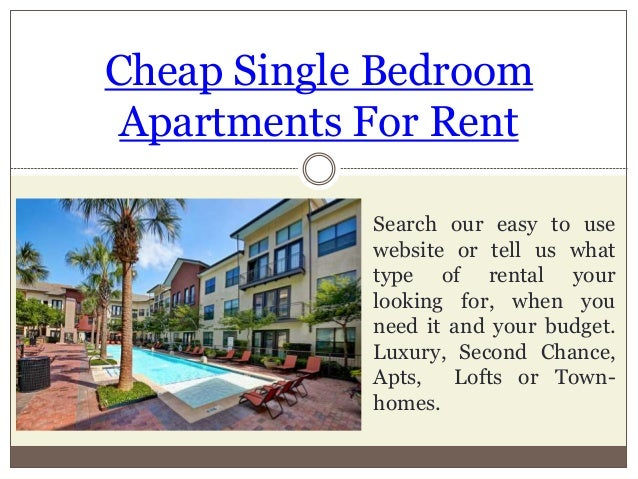 Cheap apartments for rent with utilities included - Looking for one bedroom apartment for rent ...