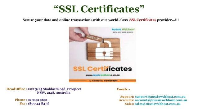 certificates cheap provider australia