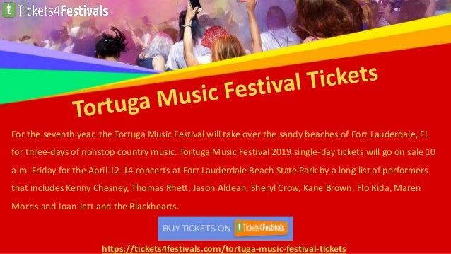 Discount Tortuga Music Festival Tickets Slide 2