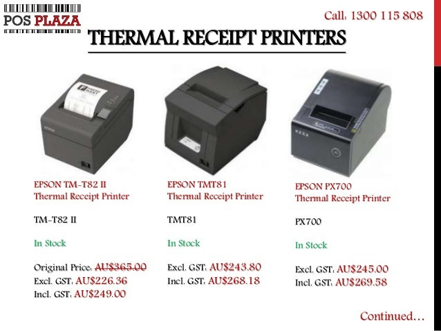 Cheap Usb Amp Epson Thermal Receipt Printers
