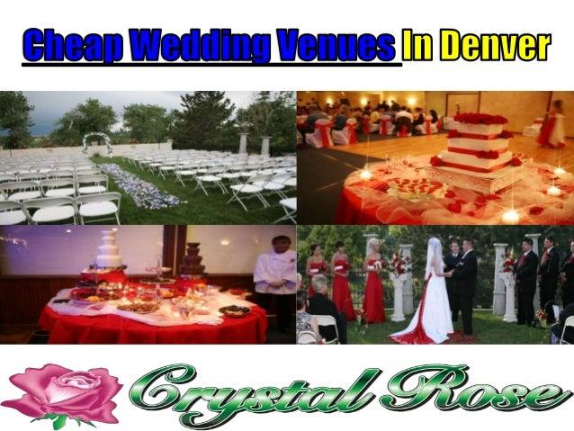 cheap wedding venues in denver