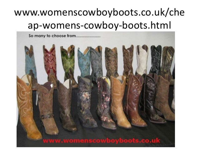 Cheap womens cowboy boots
