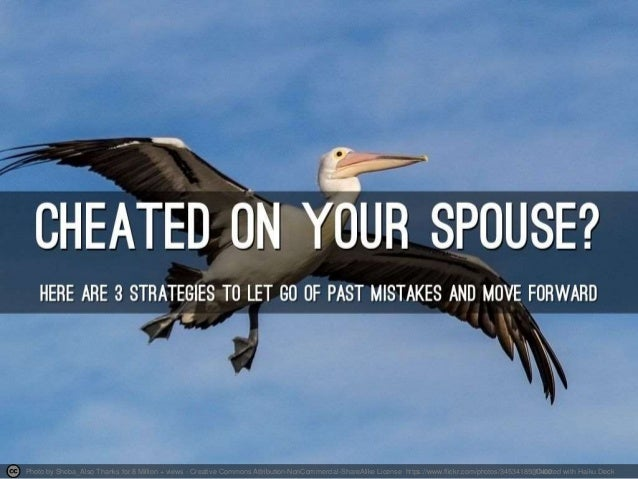 Letting Go Of A Cheating Spouse