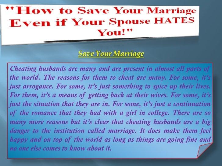 husbands who cheat