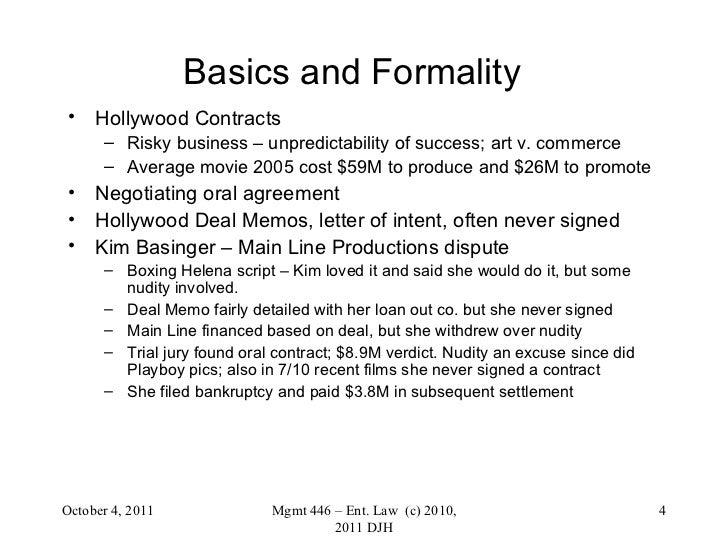 Main Line Pictures, Inc. vs Kim Basinger