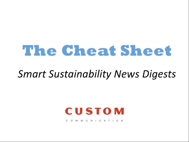 The Cheat Sheet Smart