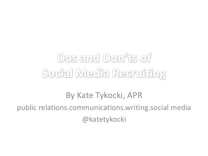 By Kate Tykocki, APRpublic relations.communications.writing.social media                    @katetykocki