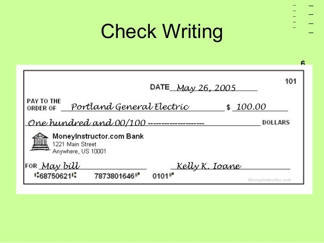 What is the law on writing bad checks?