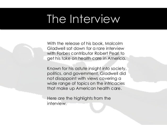 Checking America's Pulse with Malcolm Gladwell Slide 3