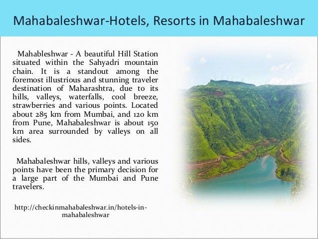 my favourite hill station-mahabaleshwar speech