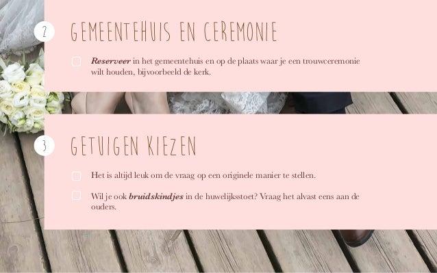 Checklist om je huwelijk tot in de puntjes te plannen Slide 3
