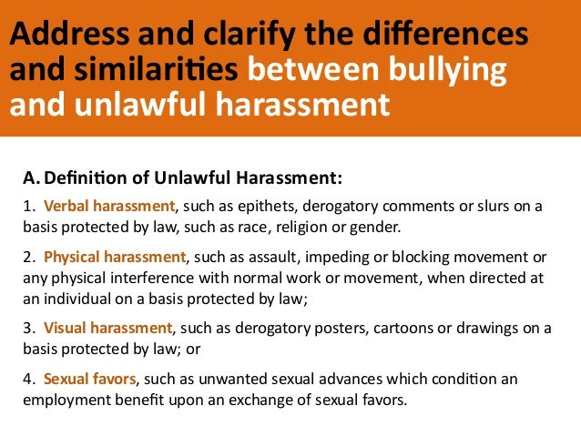 Essay about bullying at work