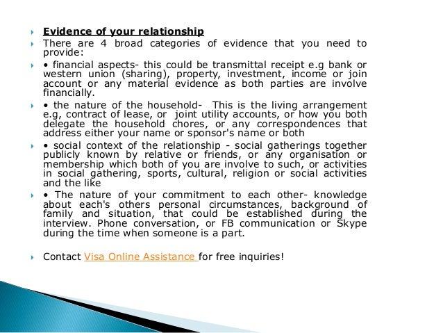 Letters Of Support For Fiance Or Partner Visa