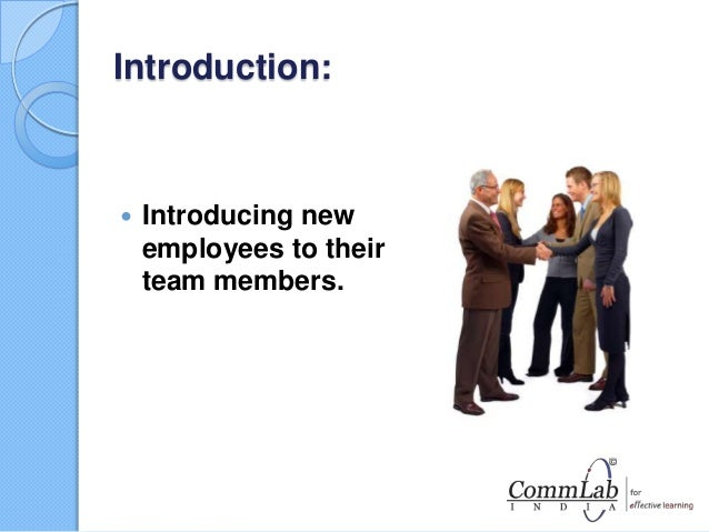 orientation plan for new employees