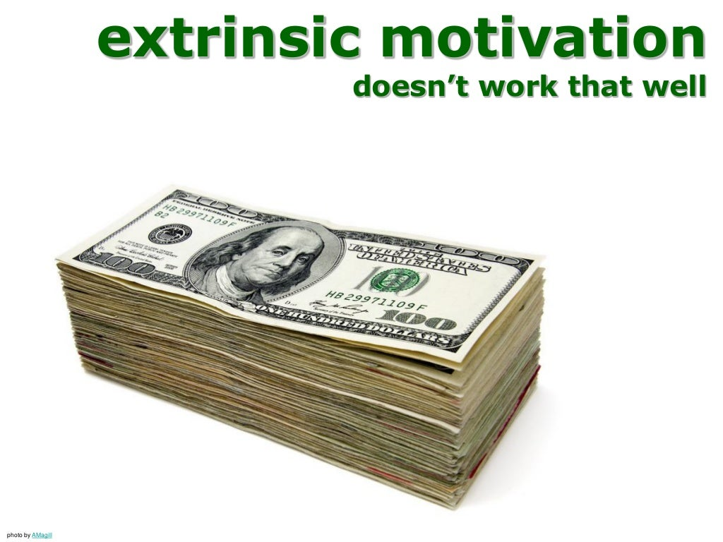 extrinsic work motivation questionnaire The role of intrinsic and extrinsic motivation focusing on self-determination theory in  thank you for your focusing, and sometimes difficult, questions, they.