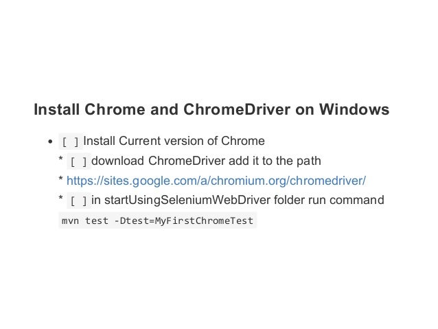 how to add chromedriver to path mac