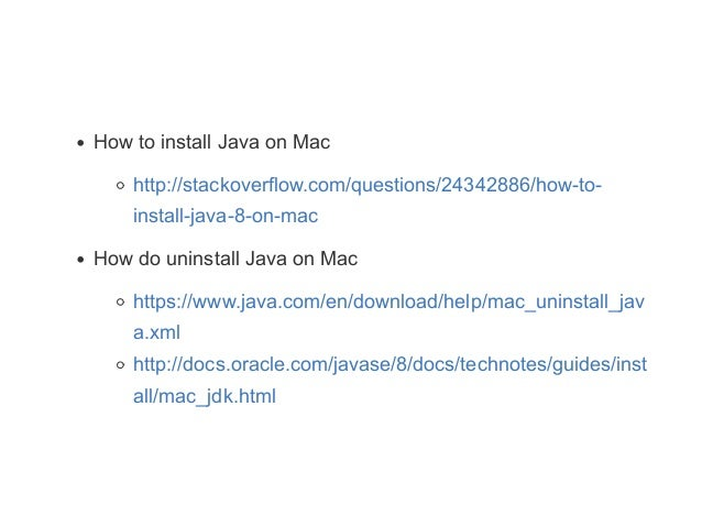 Checklist - How to install Java, Maven Intellij on Windows & Mac