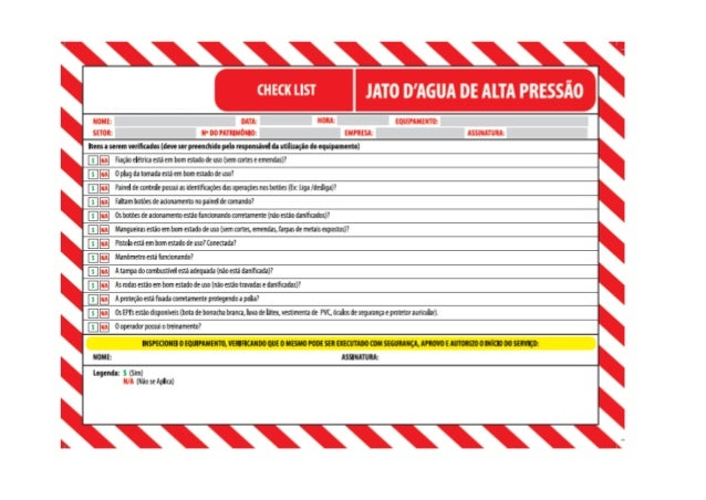 Check List Lava Jato