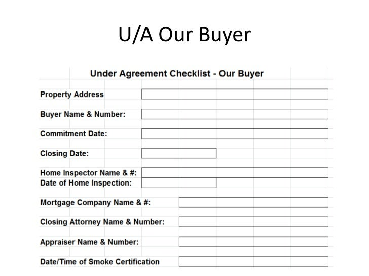 U/A Our Buyer