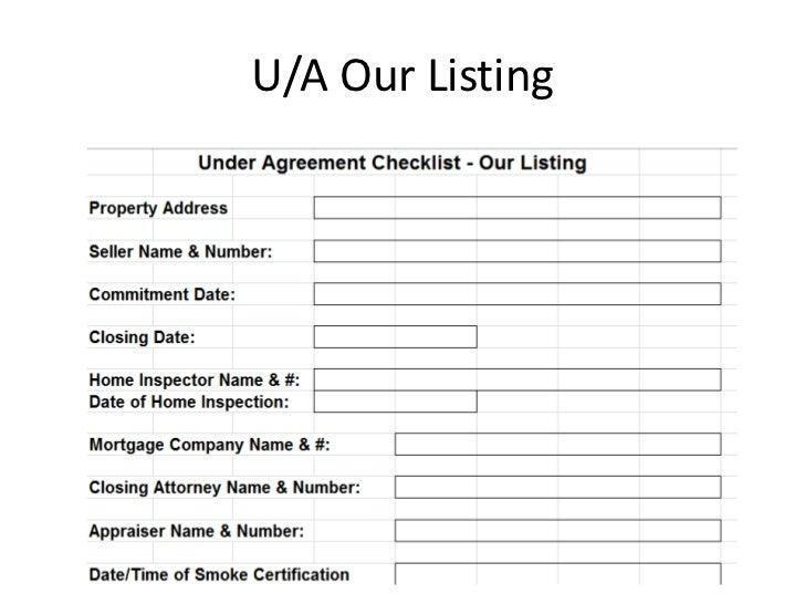U/A Our Listing