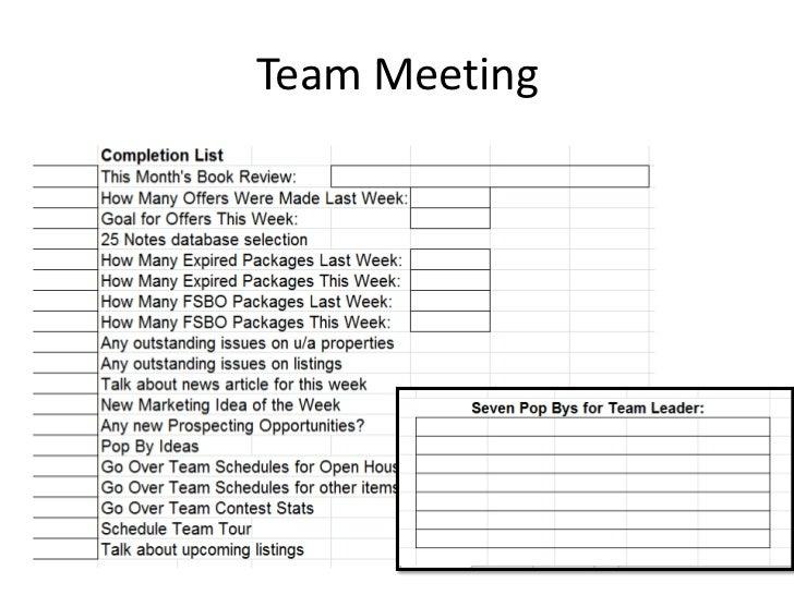 Team Profitability Worksheet