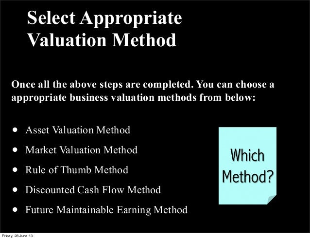 kraft valuation method of cadbury Mergers and acquisitions involve many issues,  method is often used in the valuation of the target company  kraft's acquisition of cadbury.