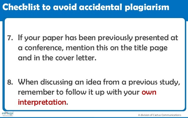 plagiarism and how to avoid it pdf
