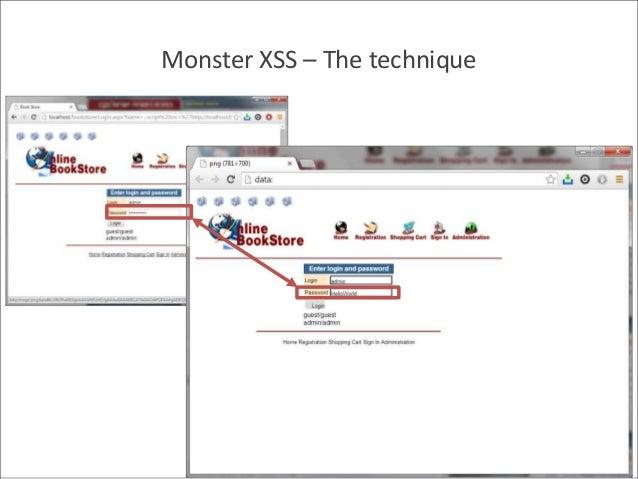 Monster XSS – The technique