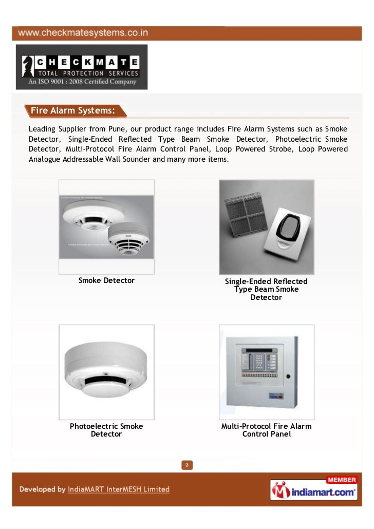 Checkmate Security Systems Pvt Limited, Pune, Security equipment