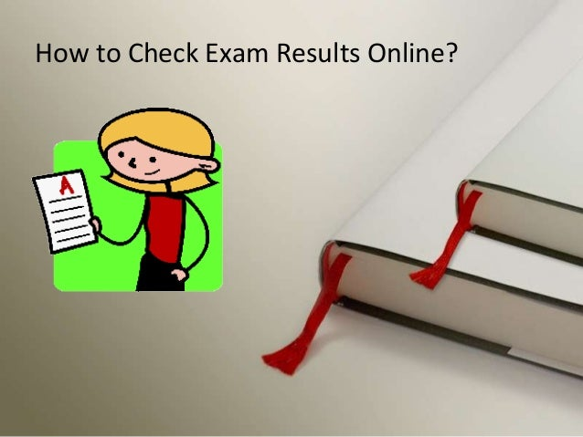 How to Check Exam Results Online?