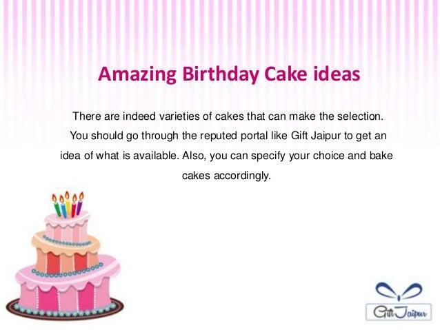 4 Amazing Birthday Cake