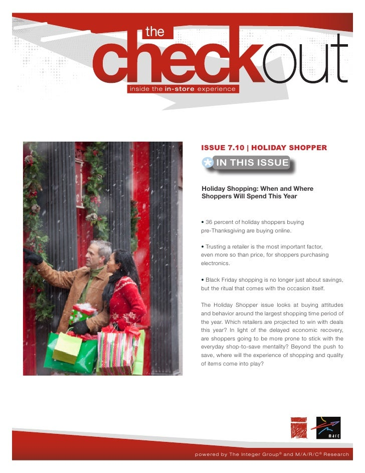 The Checkout 7.10 - Holiday Shopping