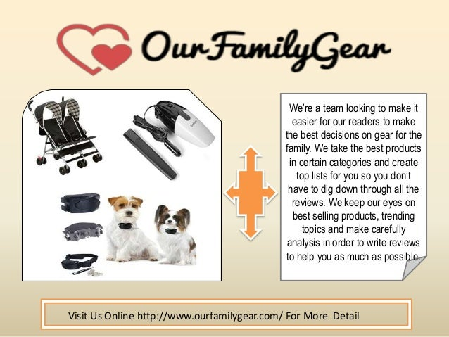 We're a team looking to make it easier for our readers to make the best decisions on gear for the family. We take the best...