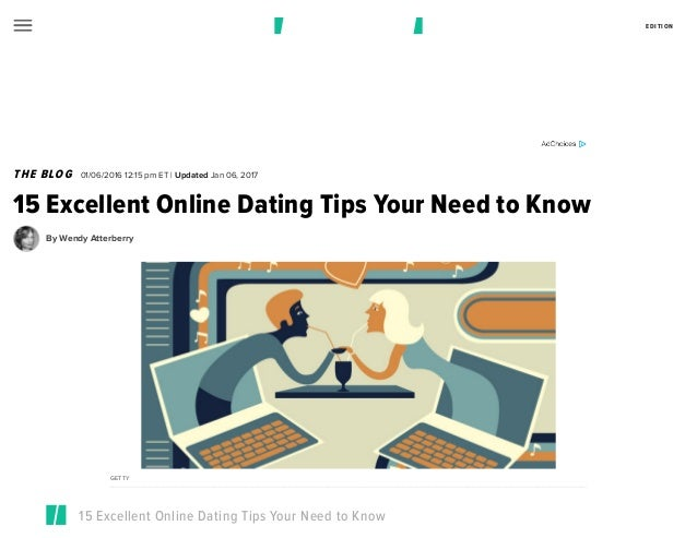 Online Dating Tips 2016
