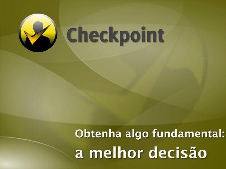 Checkpoint:  análise de crédito