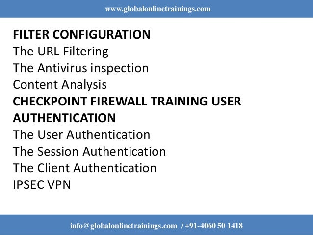 Checkpoint Firewall Training | Checkpoint Firewall Online Course