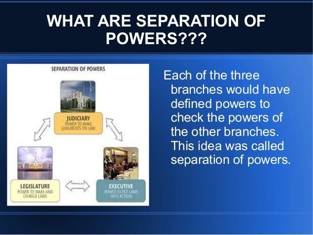difference between checks and balances and separation of powers The separation of powers  standard  the system resembles a balance of powers more than a formal separation of the three  of checks and balances between them.