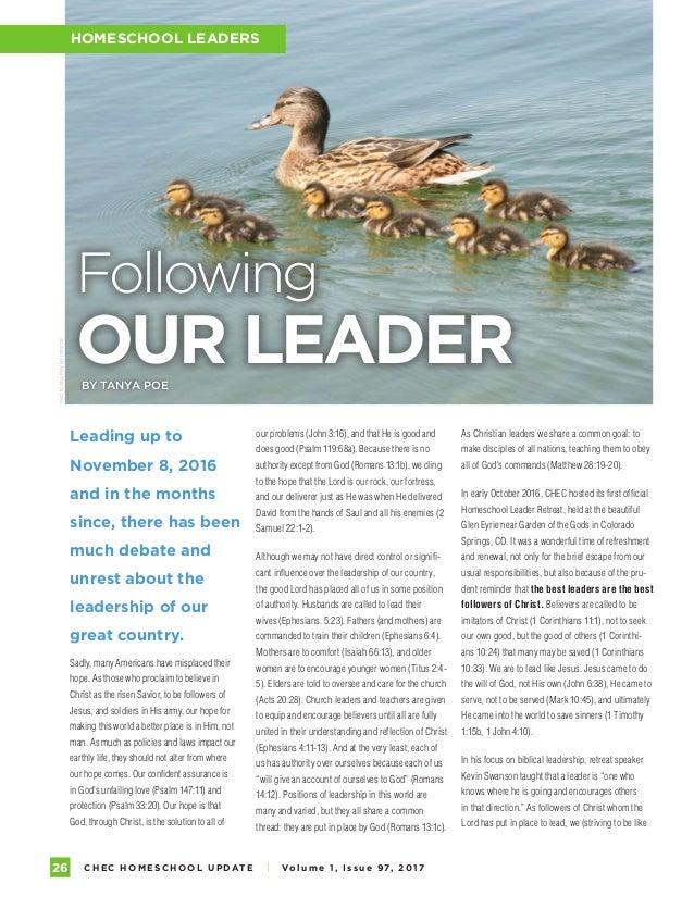 Homeschool Update Magazine 2017 Volume 1 Issue 97